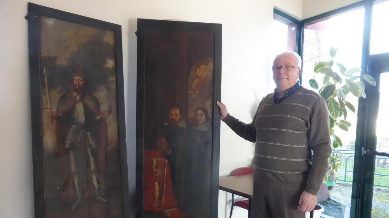 Le maire d'Arnèke avait pu récupérer les deux parties volées du triptyque. Ces panneaux ont retrouvé leur place dans l'église, mais le système d'accrochage a été revu.