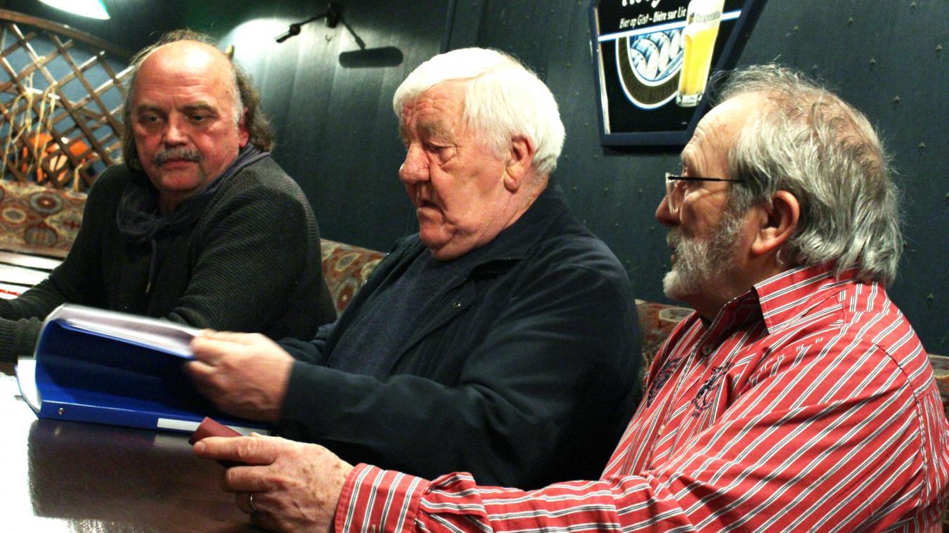 Jacques Kmieciak, Francis Prud'homme et Jean-Paul Courchelle comptent bien continuer leurs recherches.