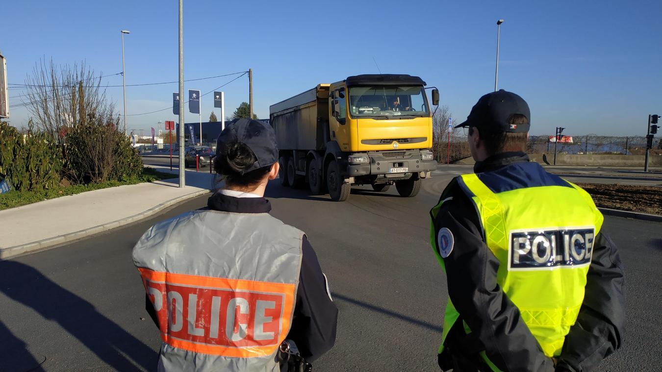 Le contrôle du 14 février a commencé à Loison-sous-Lens.