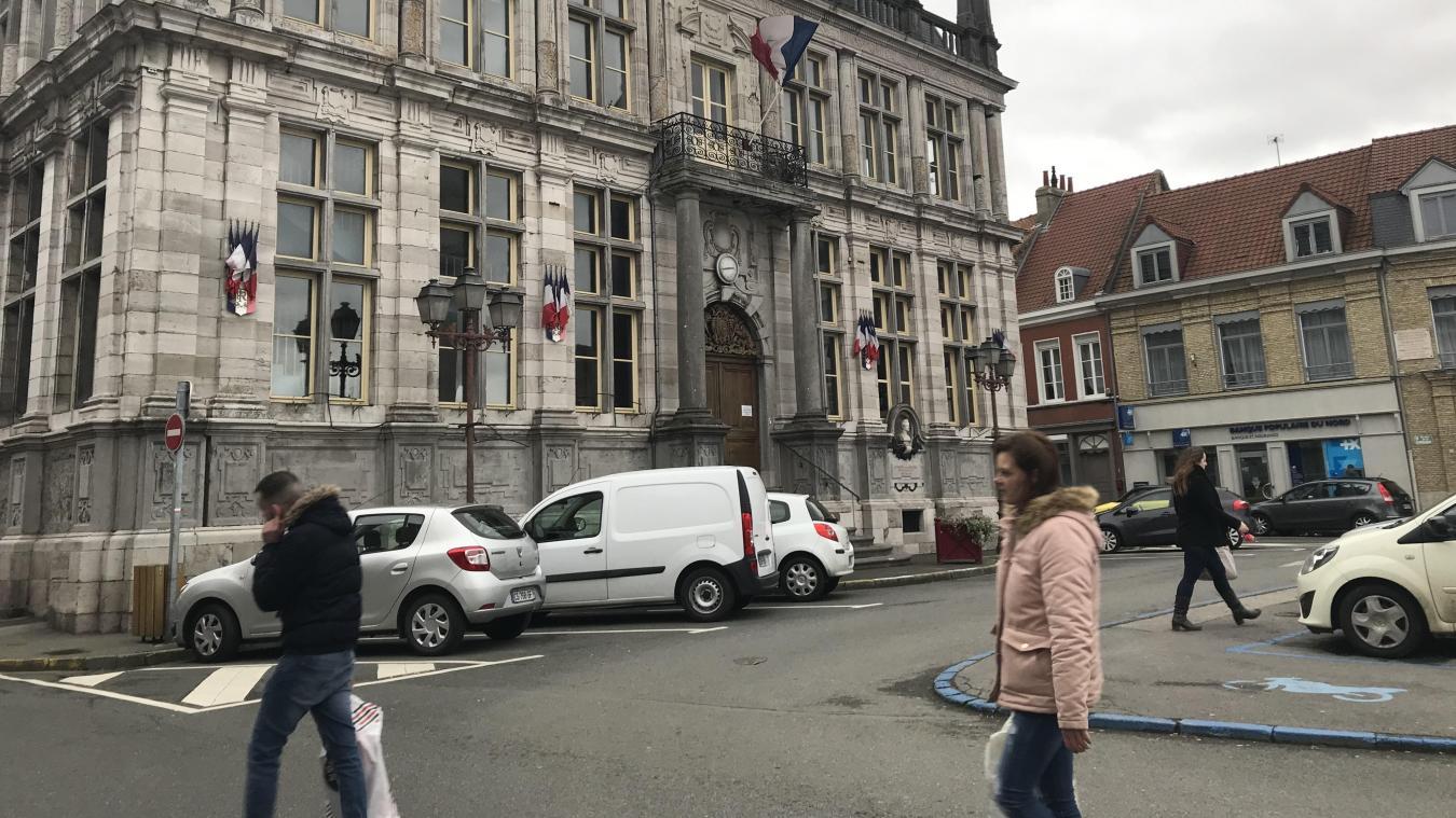 500 000 euros de travaux sont prévus pour l'hôtel de ville