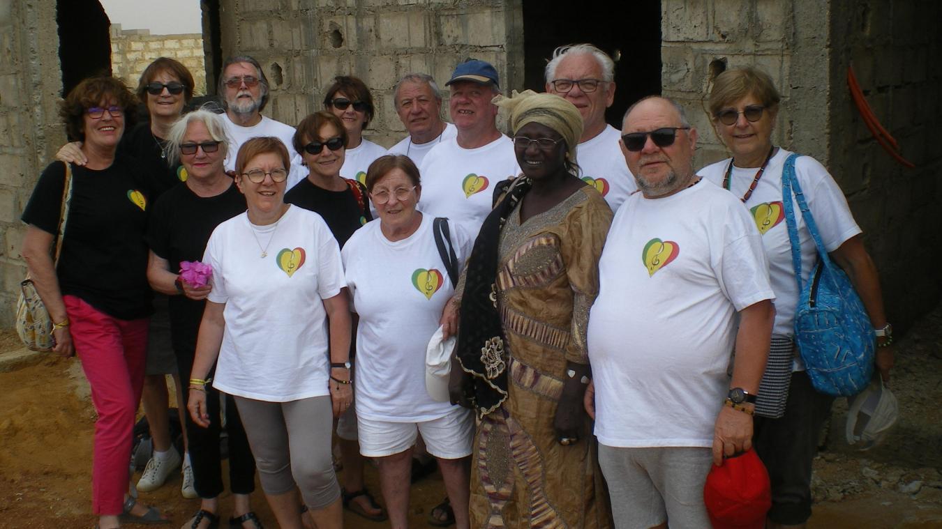 La construction de l'école communautaire a été acceptée par les autorités sénégalaises qui espèrent déjà voir une extension à ce projet !