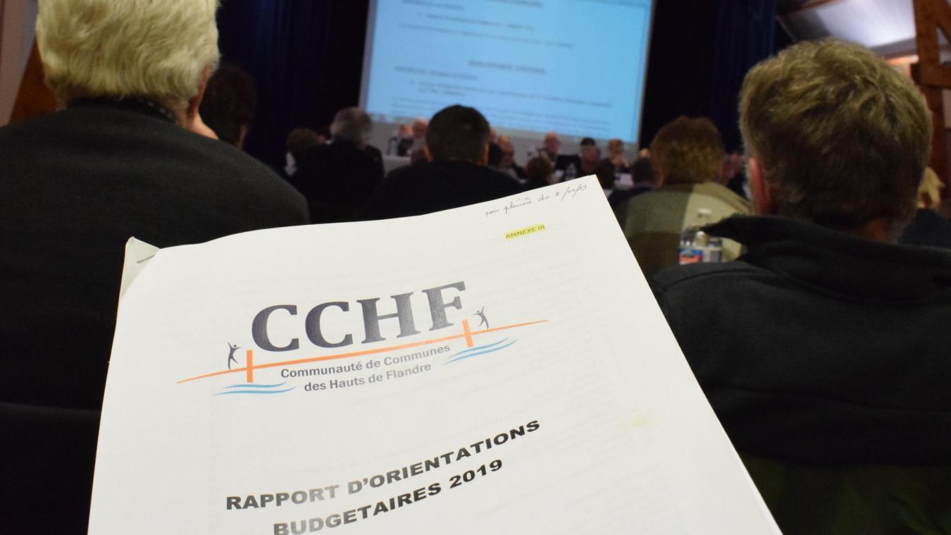 La CCHF envisage d'investir 24 millions d'euros en 2019