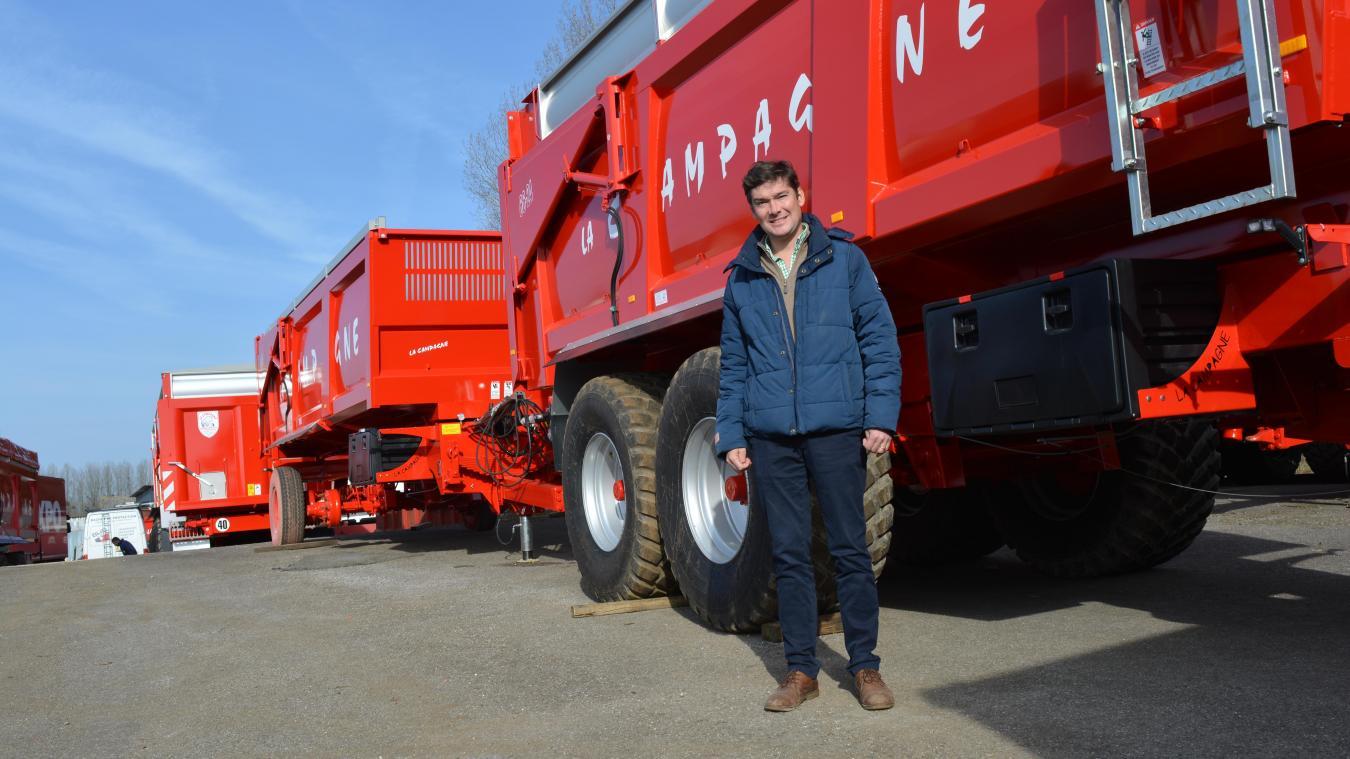 Gautier Lecureux, directeur de La Campagne, vient de doter sa société d'une nouvelle filiale avec le rachat de l'entreprise Panien.