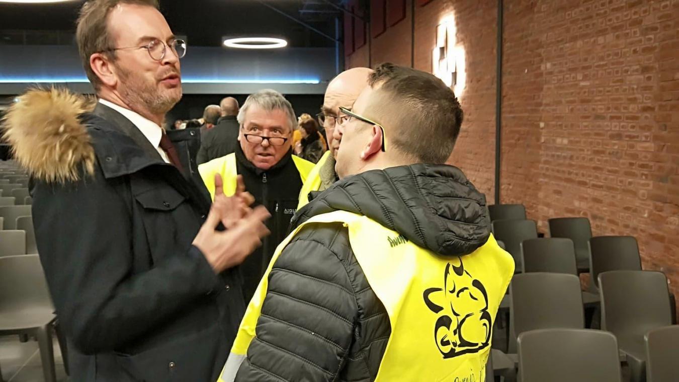 Le Grand débat national s'ouvre à Auchel avec le député LREM Benoît Potterie
