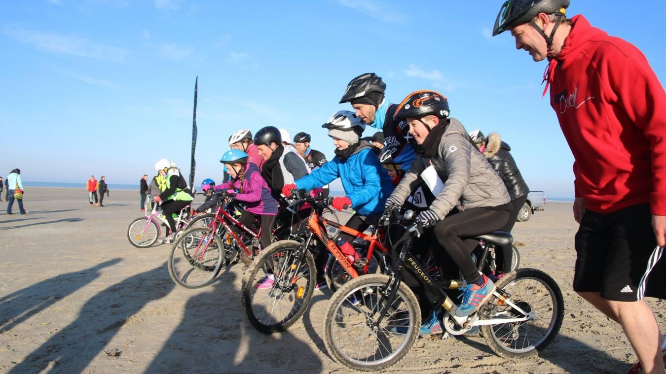 Le Berck Opale Sud Triathlon organise pour la troisième année l'événement Bike and Run sur le sable de la station berckoise.