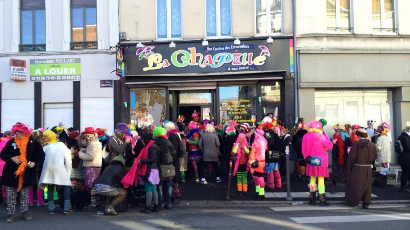 Depuis 2011, La Chapelle à ma Tante est la référence carnavalesque à Lille, c'est d'ailleurs le seul établissement du genre dans la capitale des Flandres.