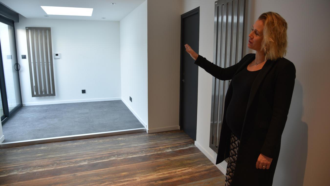 Anne-Sophie Caron a utilisé la surface de son ancienne maison pour agrandir son cabinet.