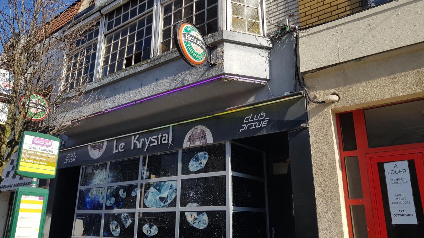 Béthune : la discothèque Krystal interdite de musique