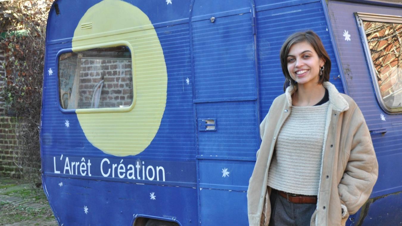 Avec l'aide de Julie Forquet, Lucile Christoffel espère mettre en place le marché dès le mois d'avril.