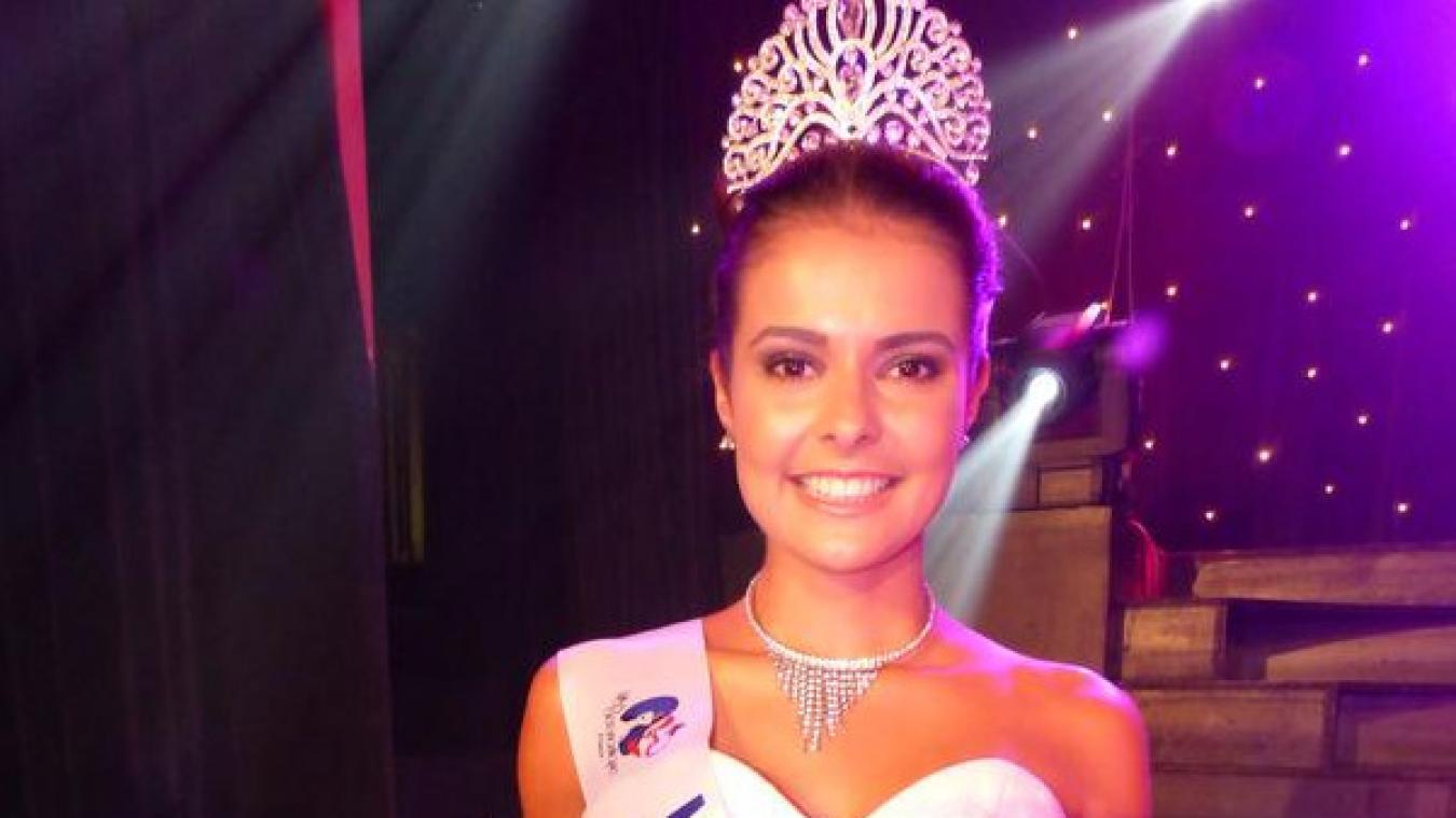 Tessie Vankelst participait à son premier concours de beauté et la Gravelinoise de 19 ans a su séduire le public, puis le jury.