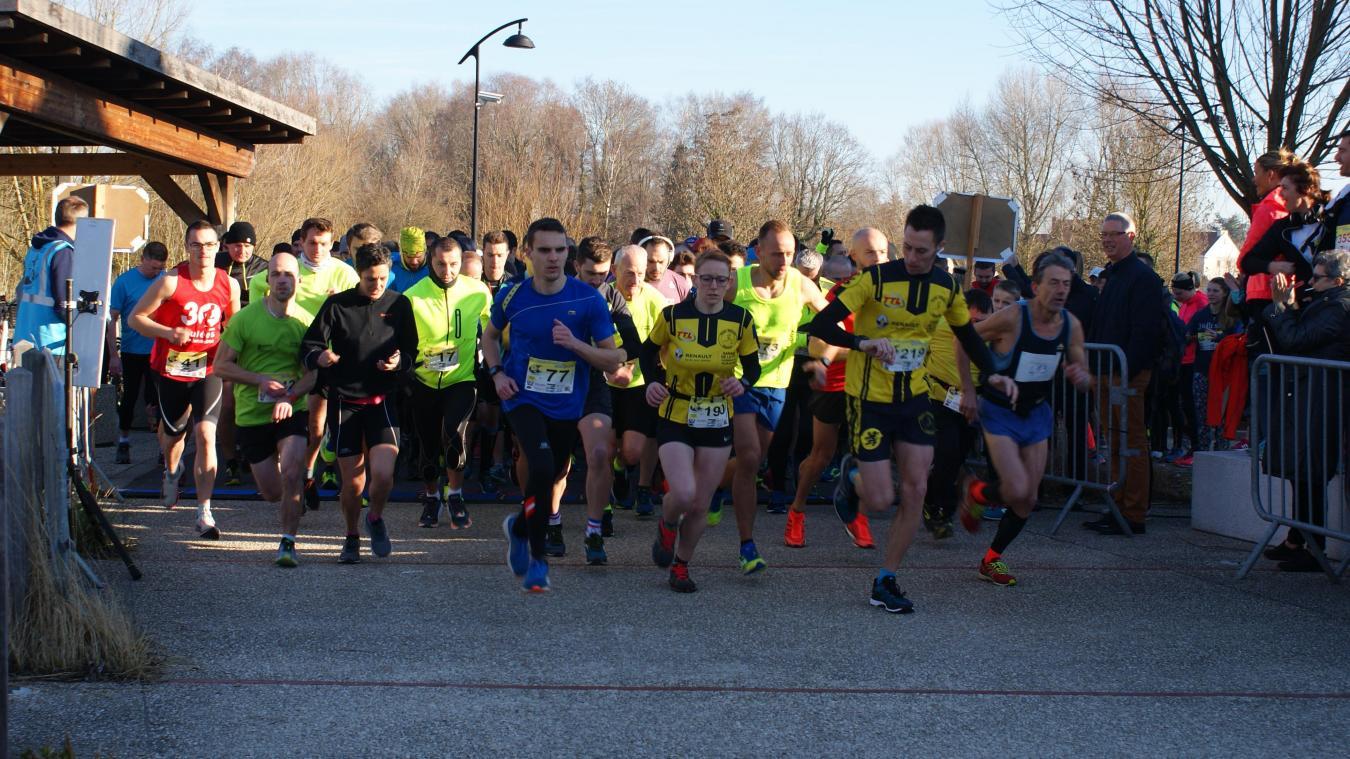 Lestrem: la Route du sourire a séduit 400 coureurs (Photos et vidéo)