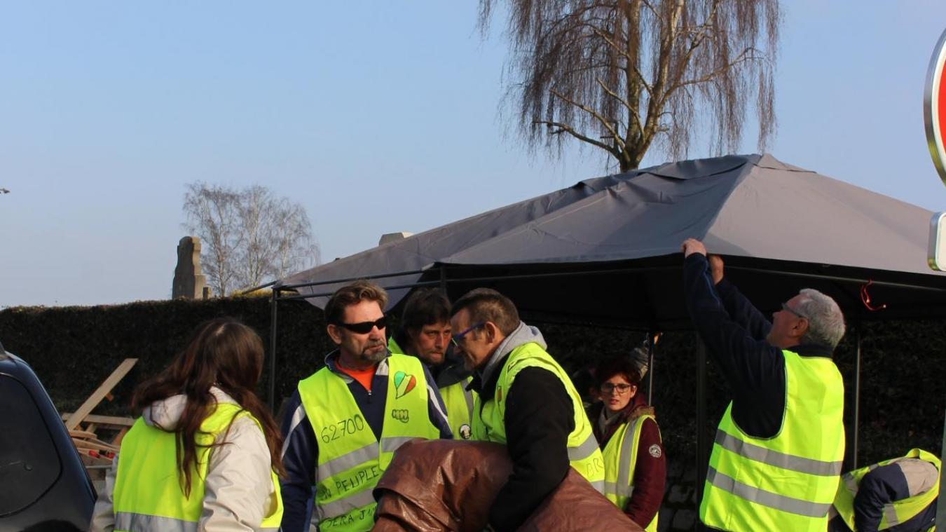 Bruay-la-Buissière : les Gilets jaunes démantèlent leur camp