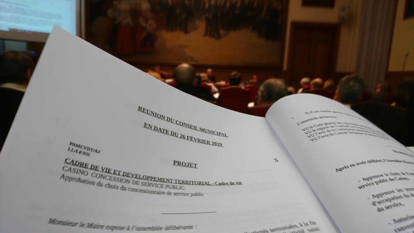 La majorité a acté ce mardi soir la passation de pouvoir entre Partouche et Golden Palace.