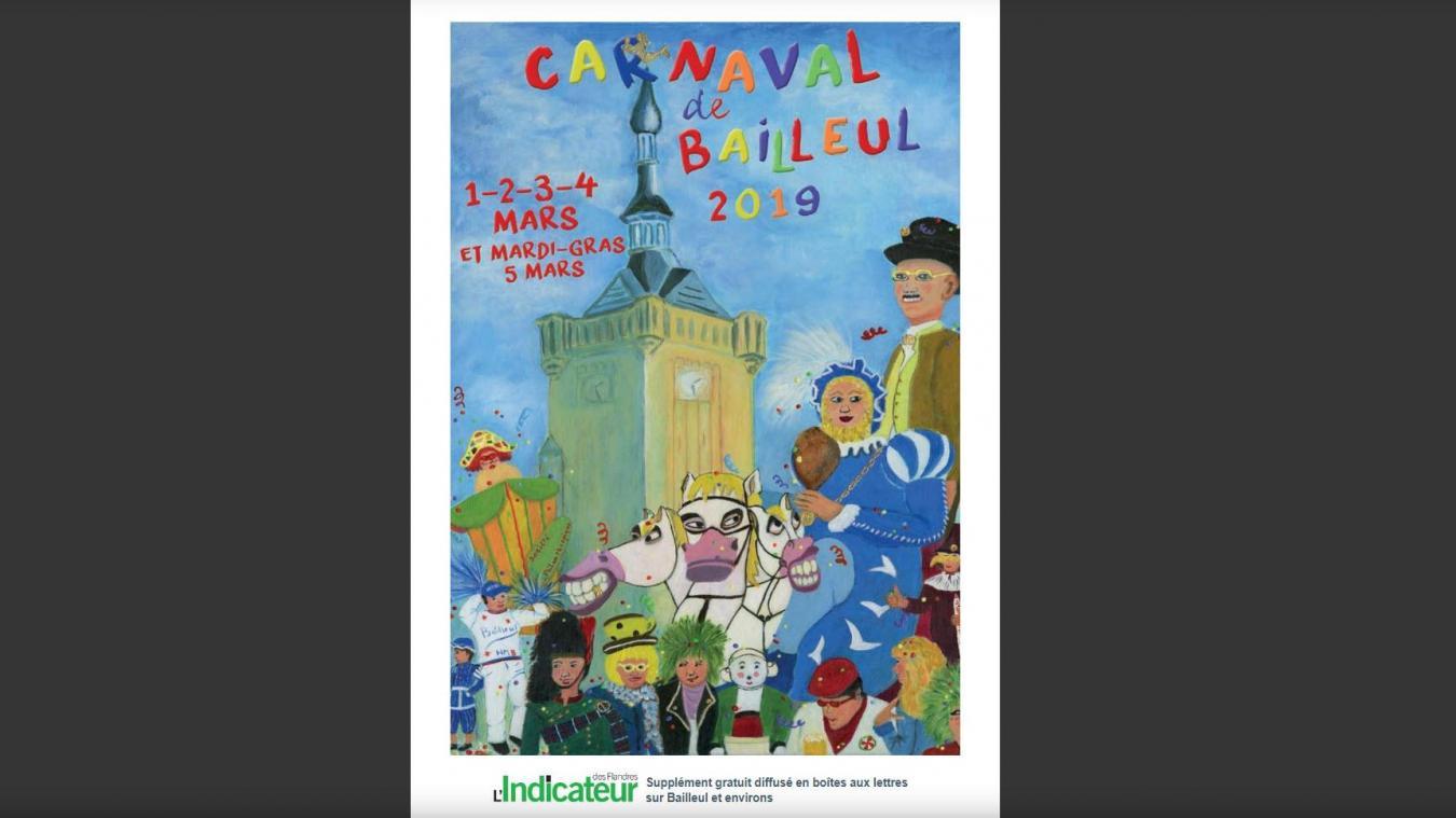Feuilletez notre supplément « Carnaval de Bailleul 2019 »