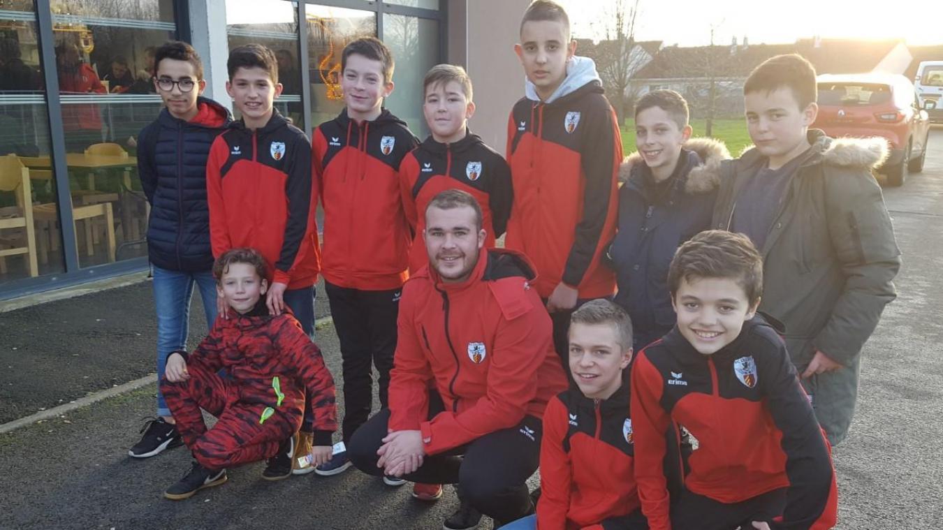 Les jeunes U13 du FC Lillers sur les bons rails