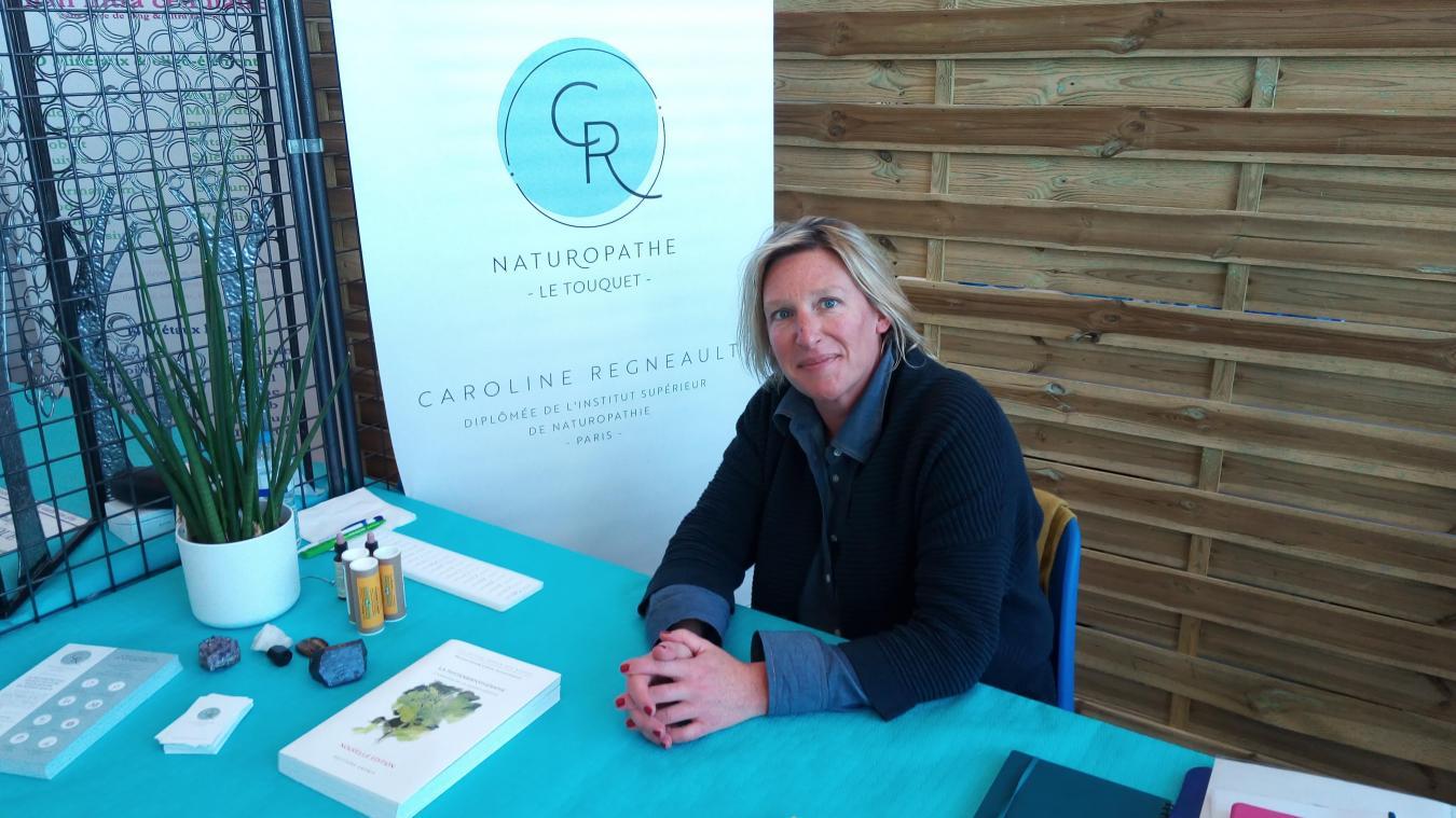 Caroline Regneault est naturopathe à Trépied