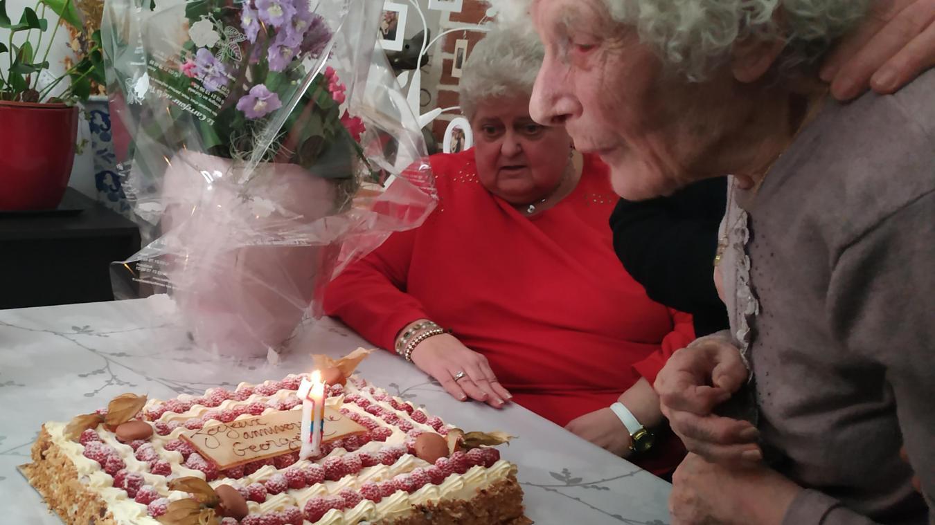Georgette Beck a fêté ses cent ans entourée des siens.