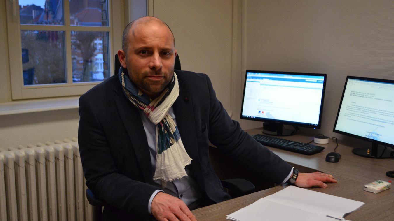 Bertrand Ridelaire, Directeur général des services de Bailleul, s'explique sur la plainte pour harcèlement moral de Gilles Jolivet.