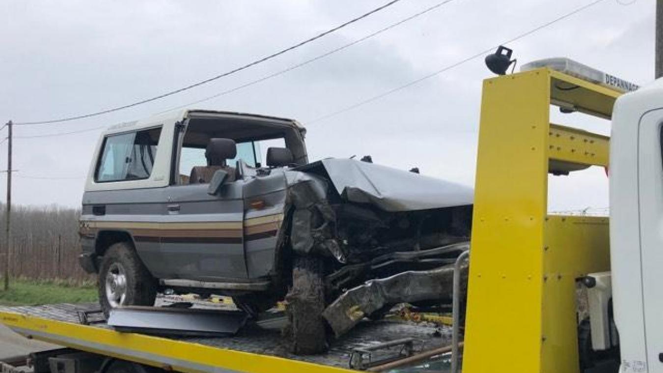 Un blessé rue du Bacquerot à Laventie (vidéo)