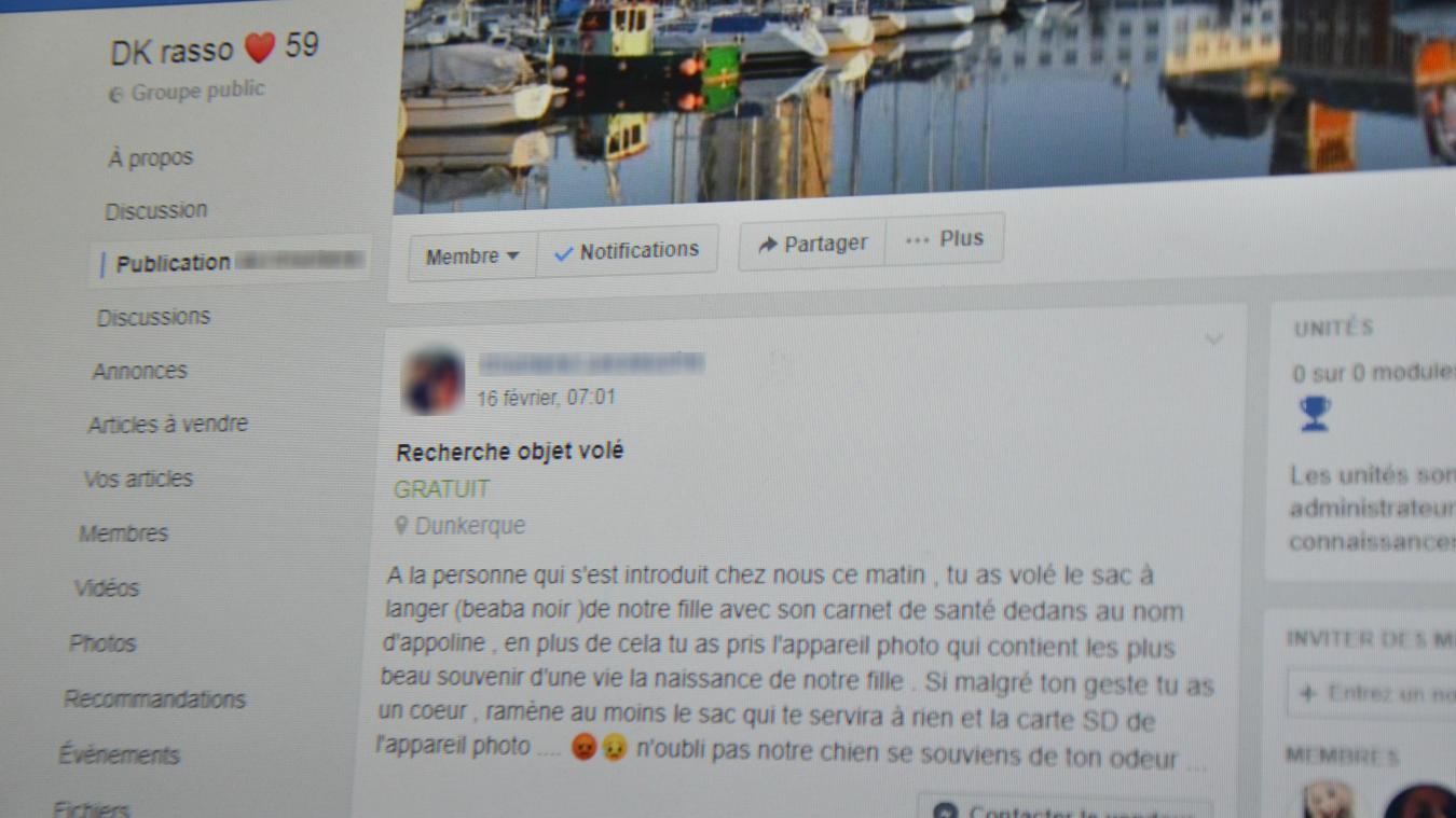 Le groupe Facebook DK rasso 59 compte plus de 80 000 membres.