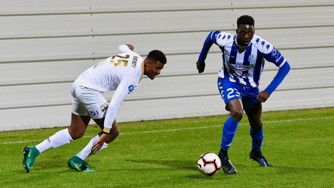 Arrivé fin janvier, l'attaquant de 20 ans a joué quatre rencontres avec l'USLD et a inscrit un but lors du succès à Villefranche-sur-Saône (1-0).