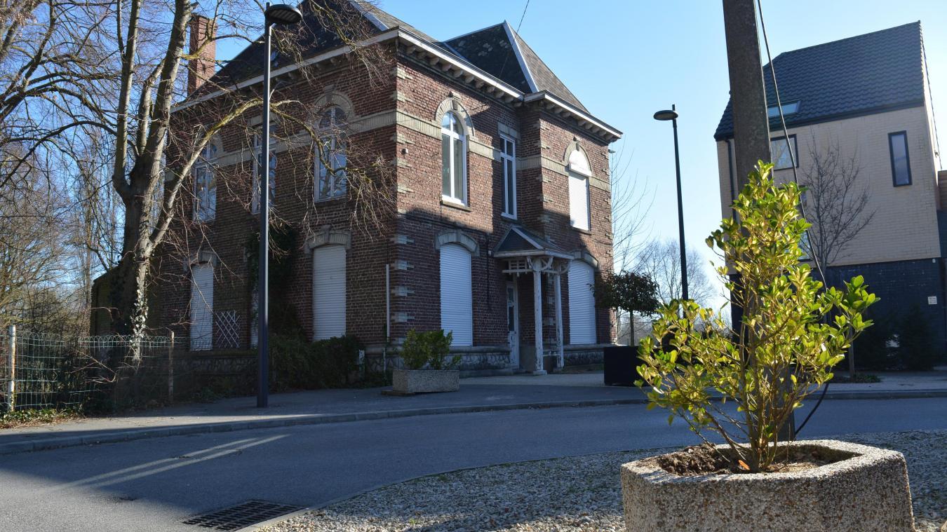 La nouvelle mairie prendra place dans le presbytère.