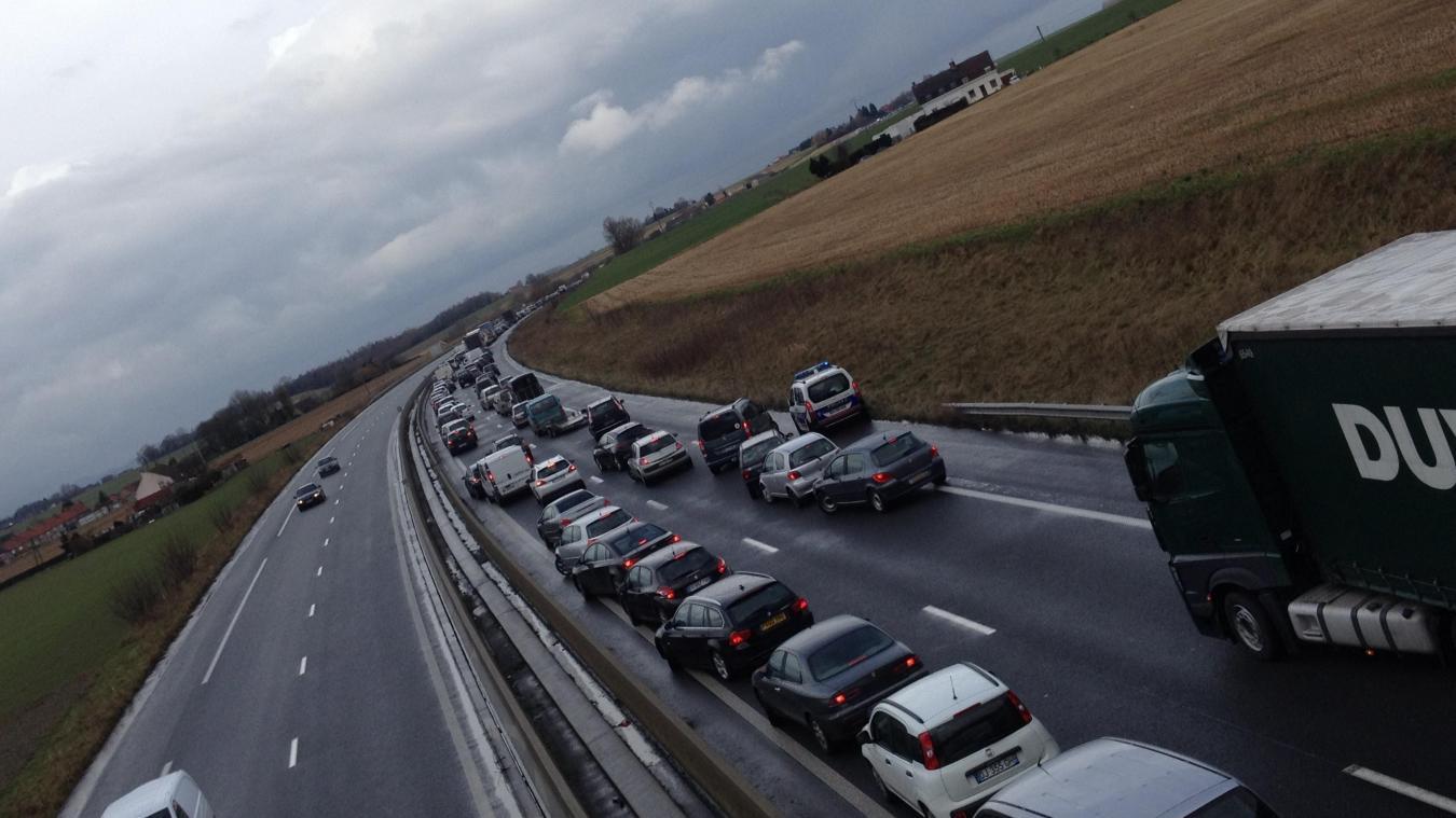 L'accident s'était produit dans la nuit du vendredi 1 er  au samedi 2 mars sur l'A25 à hauteur de Bailleul, peu après minuit. (Photo d'illustration)