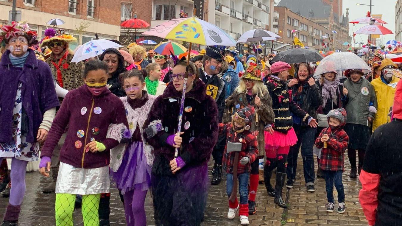 Joie et partage font partie des valeurs du carnaval que l'on transmet aux plus jeunes.