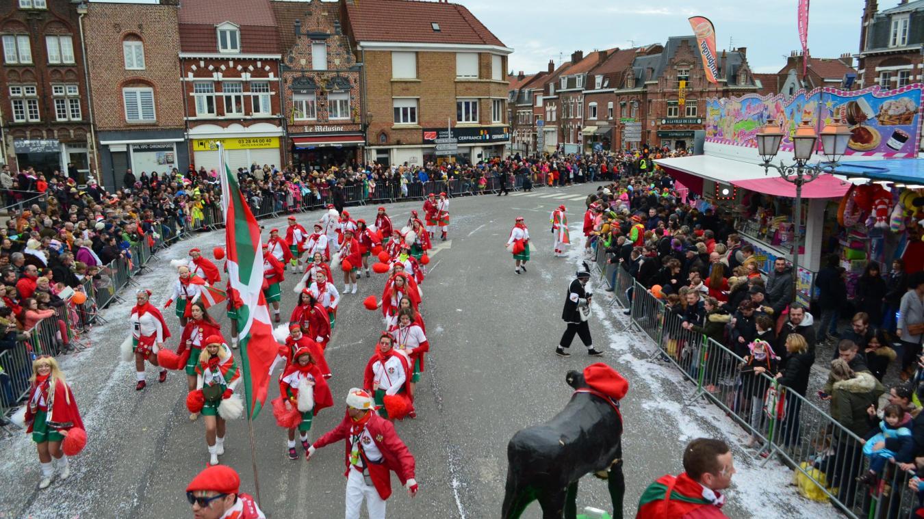 Retour sur le cortège carnavalesque de dimanche (photos et vidéo)