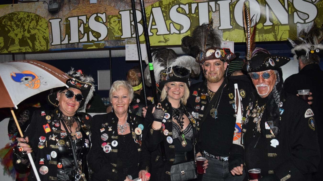 Les Boucaniers de Gravelines font partie des acharnés du carnaval.