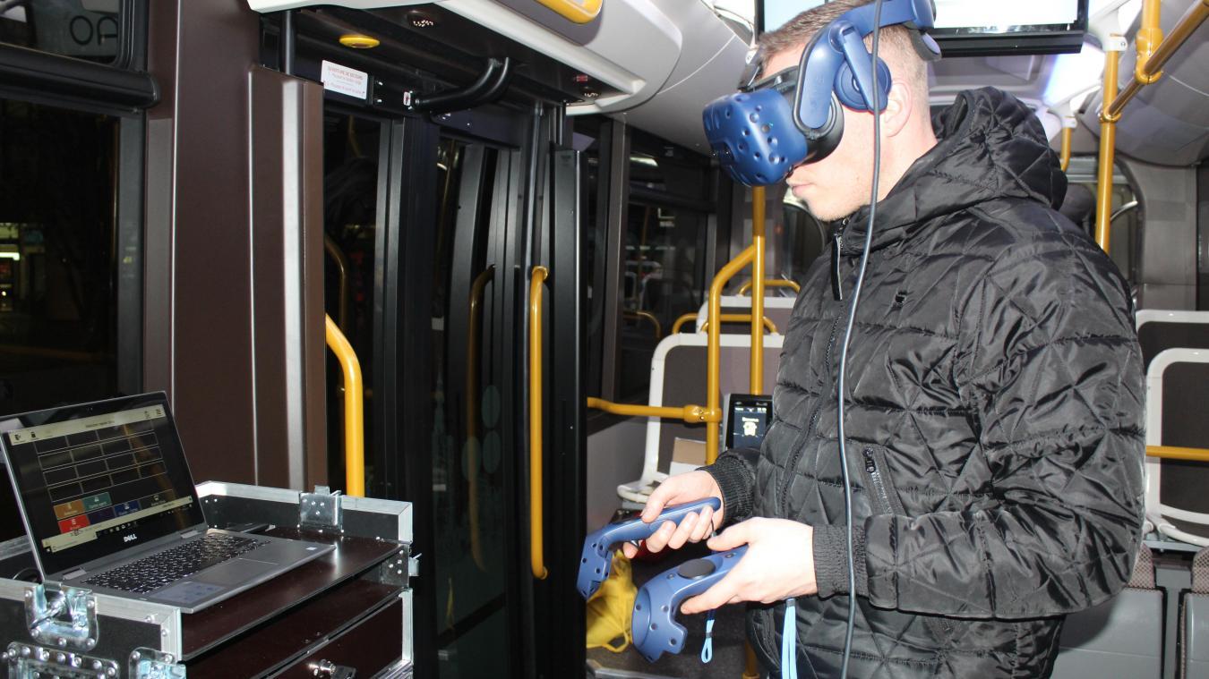 Béthune : voyager en 3D sur les nouvelles lignes du bus