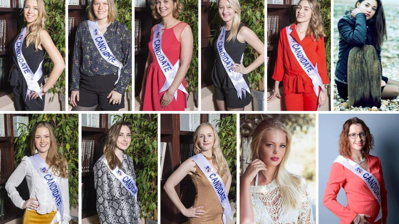 Les onze prétendantes au titre de Miss Montreuil 2019 se sont présentées samedi dernier.
