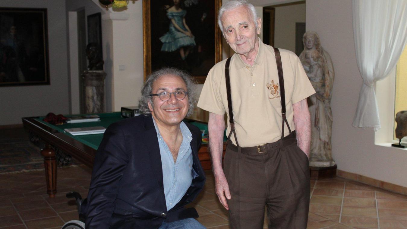 Fred Zeitoun, parolier et animateur de télévision, viendra à Etaples « En chanteur » le 21 septembre prochain. C'est avec lui que Charles Aznavour a enregistré son dernier duo.