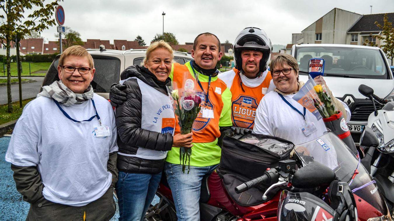 Amis motards, rejoignez les rangs de l'association  Une rose, un espoir 62 .