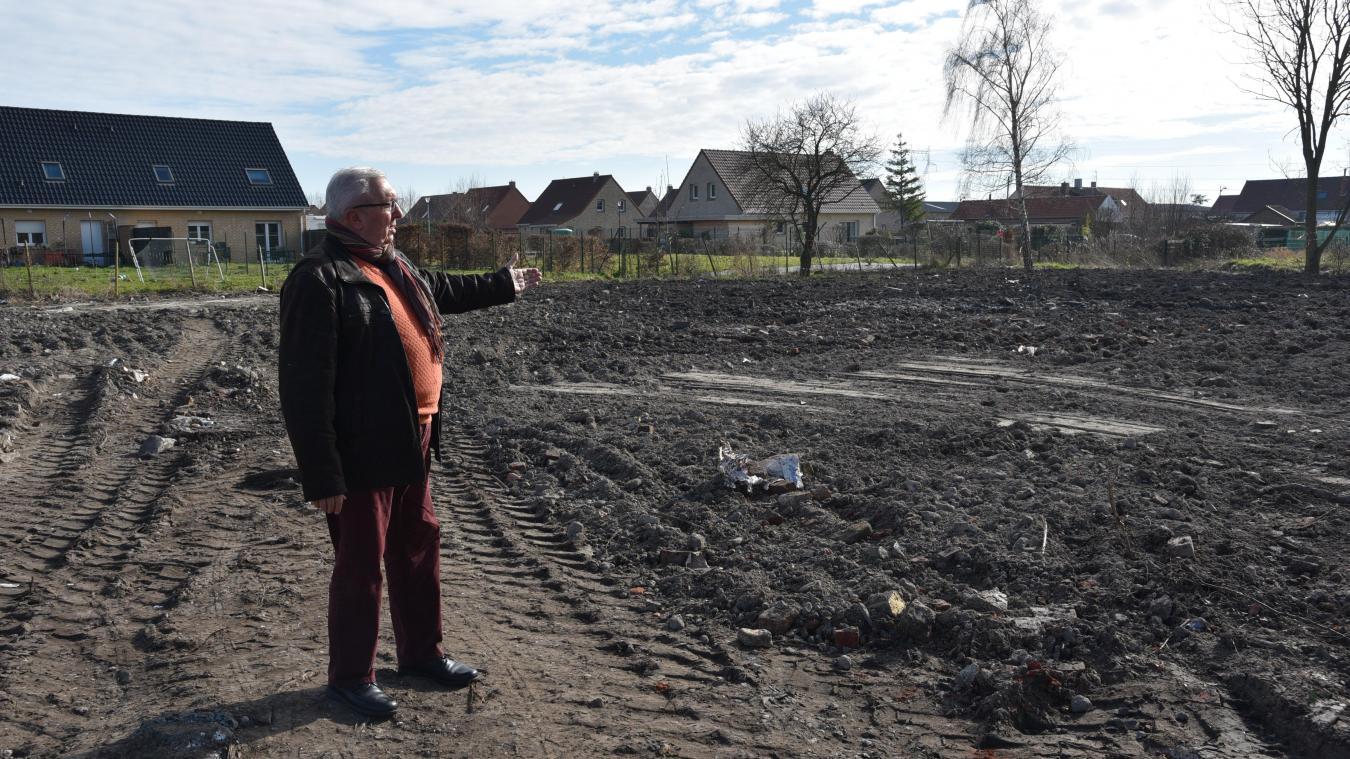 Michel Decool espère voir la construction de premiers logements en 2019.