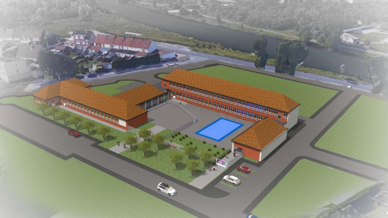 Le projet pour l'école Jean-Jaurès sera le gros investissement de 2019 (1,2 million d'euros).
