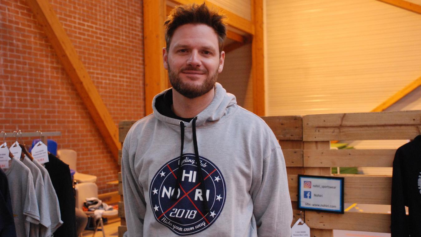 Mathieu Compiègne a lancé la marque « Nohiri » en décembre dernier.