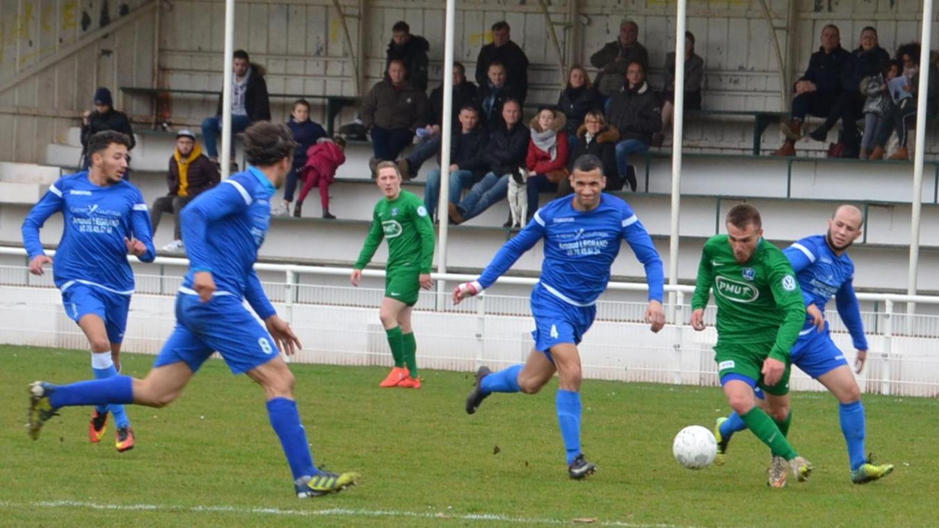 Un match décisif contre Longuenesse pour l'OS Aire football