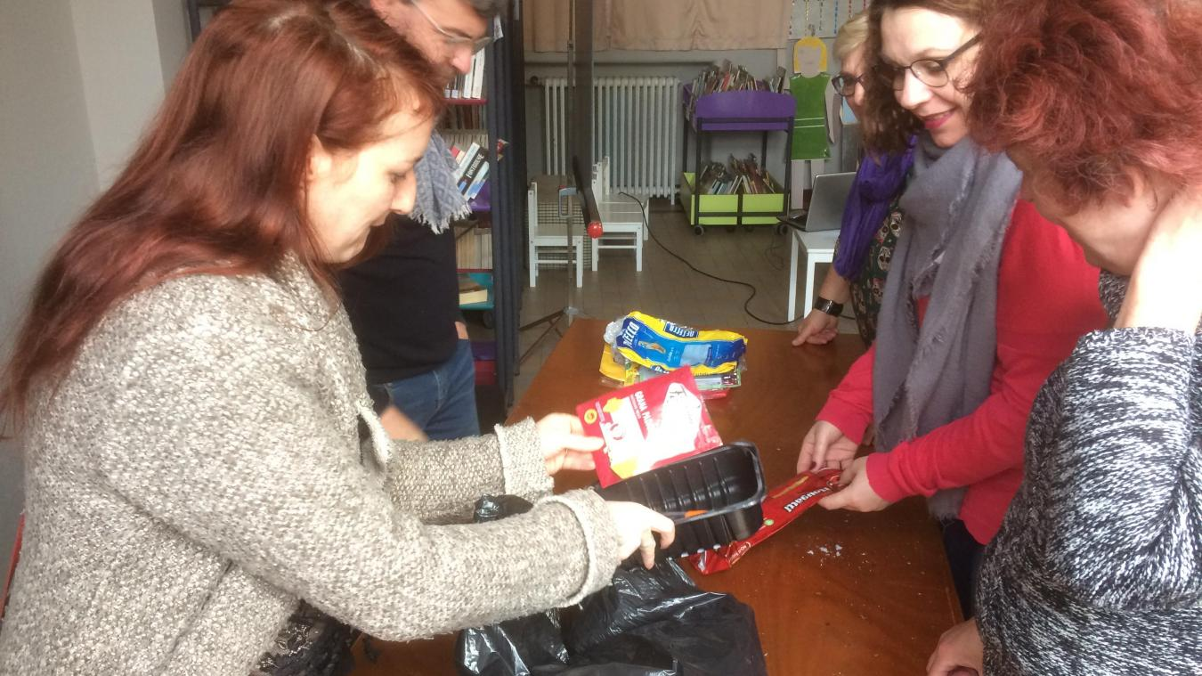 L'an passé, des familles ont réussi à réduire leurs déchets de 70 % selon Océane Ten l'animatrice et organisatrice des ateliers zéro déchet.