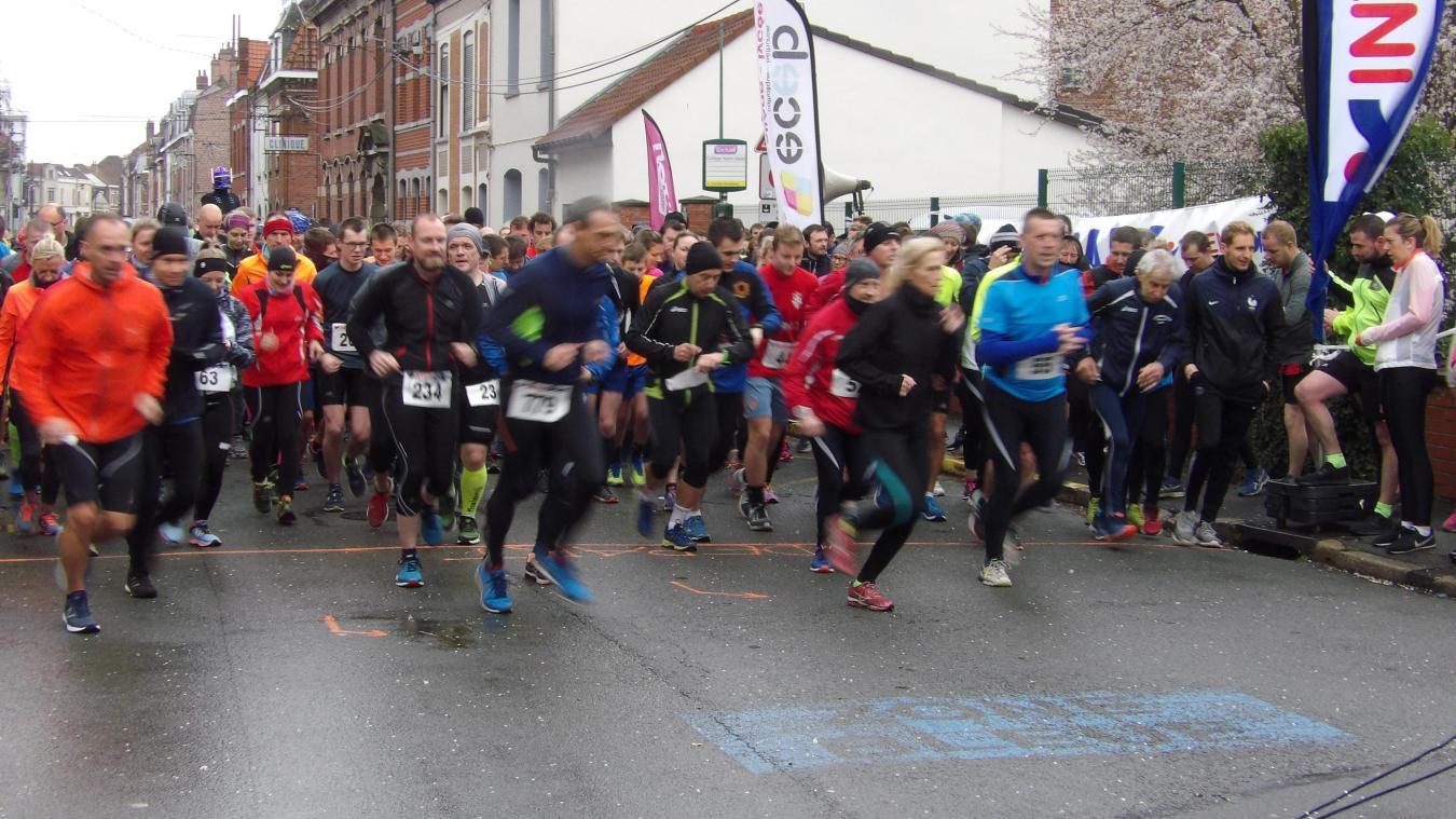 Béthune: 1200 coureurs au premier Urban Trail (Vidéo+Galerie de photos géante)