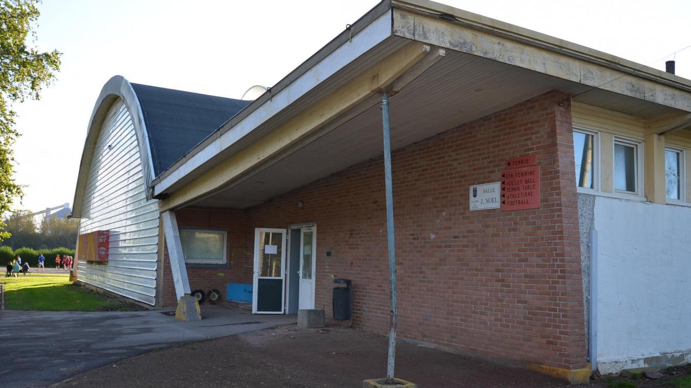 Lillers : la toiture de la salle de sport Jules-Noël endommagée par la tempête