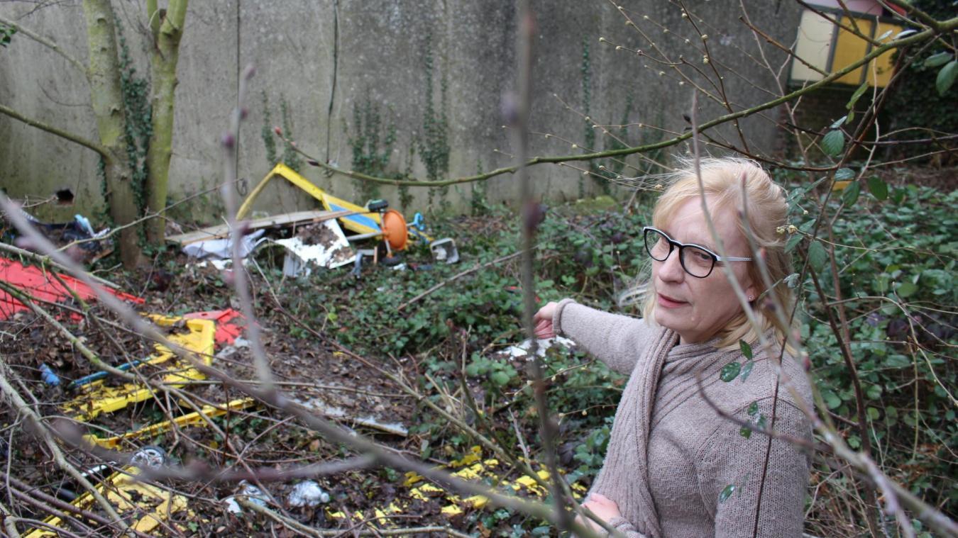 Houdain : les dépôts sauvages s'accumulent à côté de chez Annie depuis 10 ans