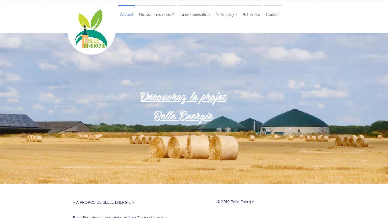 Les 7 agriculteurs de Bailleul et Saint-Jans-Cappel lancent leur site internet dédié au méthaniseur dans un but pédagogique.