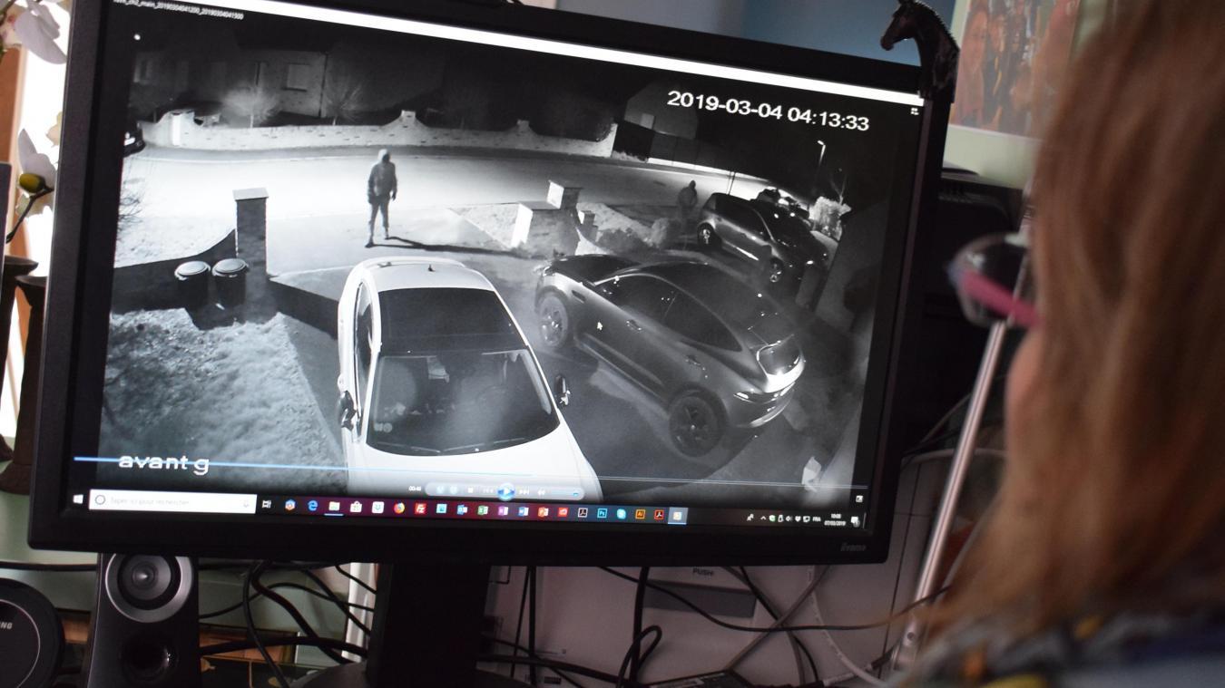 Car jacking  ils filment cinq hommes cagoulés devant chez eux