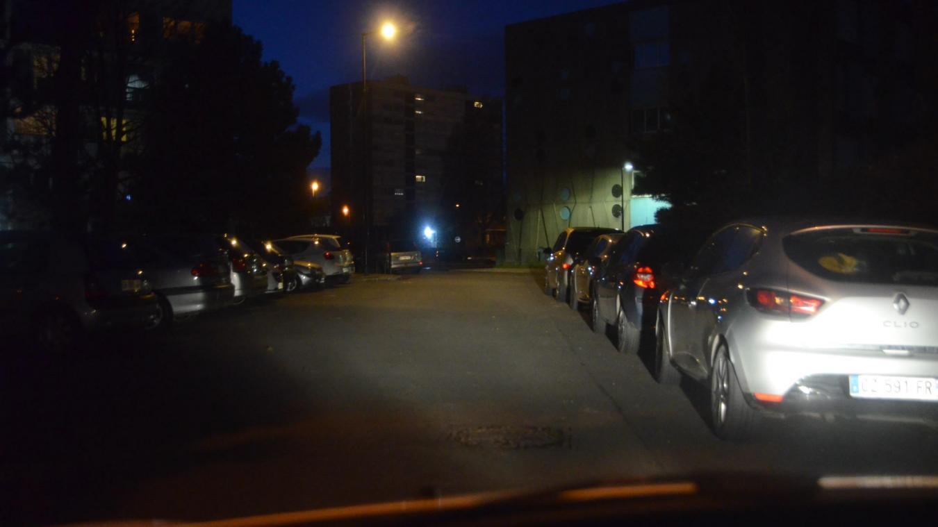 Le véhicule a été retrouvé rue Jules-Verne.