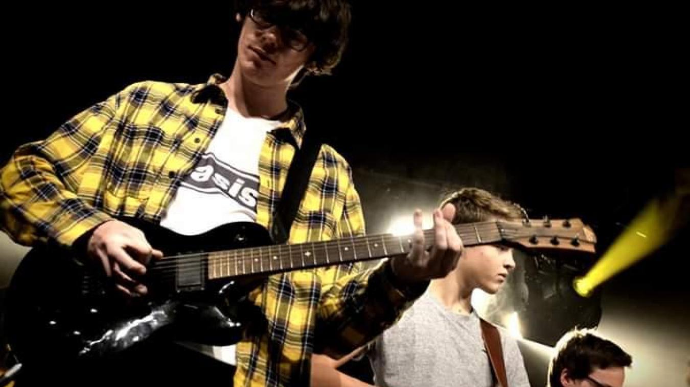 Alexandre s'est déjà produit sur scène, notamment lors du festival Intramurock.