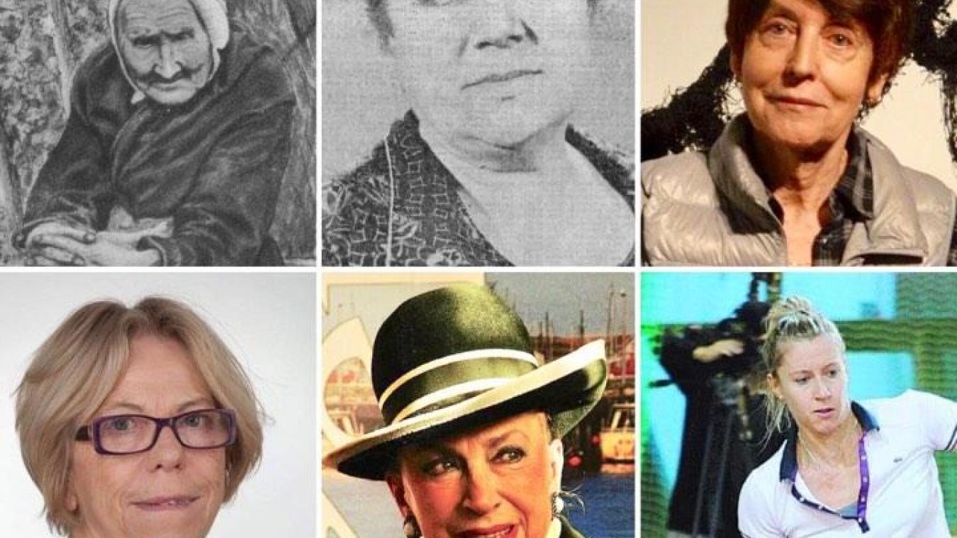 Elizabeth Bridenne, Mady Berry, Annette Messager, Danièle Lhomme, Geneviève de Fontenay, Pauline Parmentier. Et ce n'est qu'un échantillon des pépites berckoises.