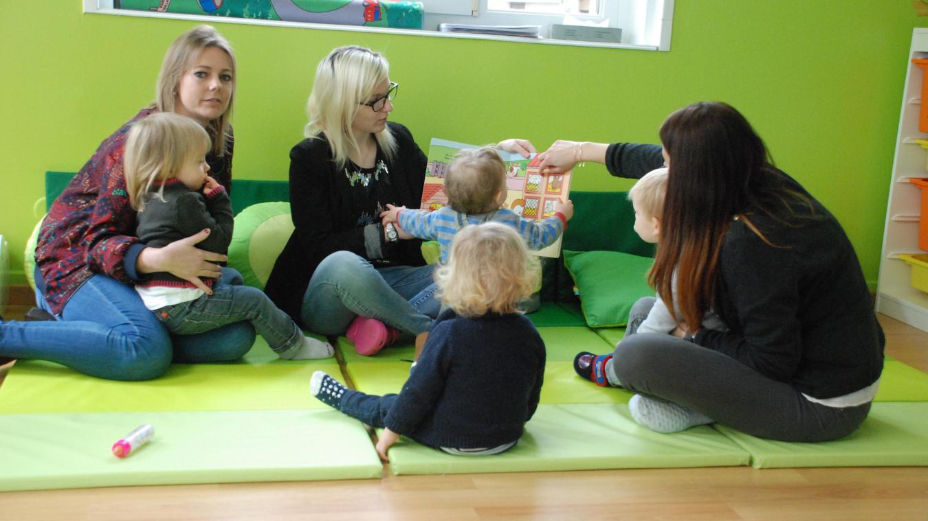 De belles images, une petite histoire avec les animaux, les enfants sont très intéressés.