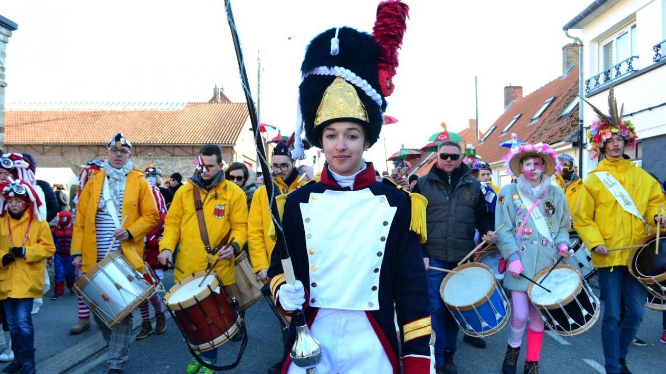 Charlotte II mènera dimanche, pour la troisième fois en tant que tambour-major, la bande de Warhem.