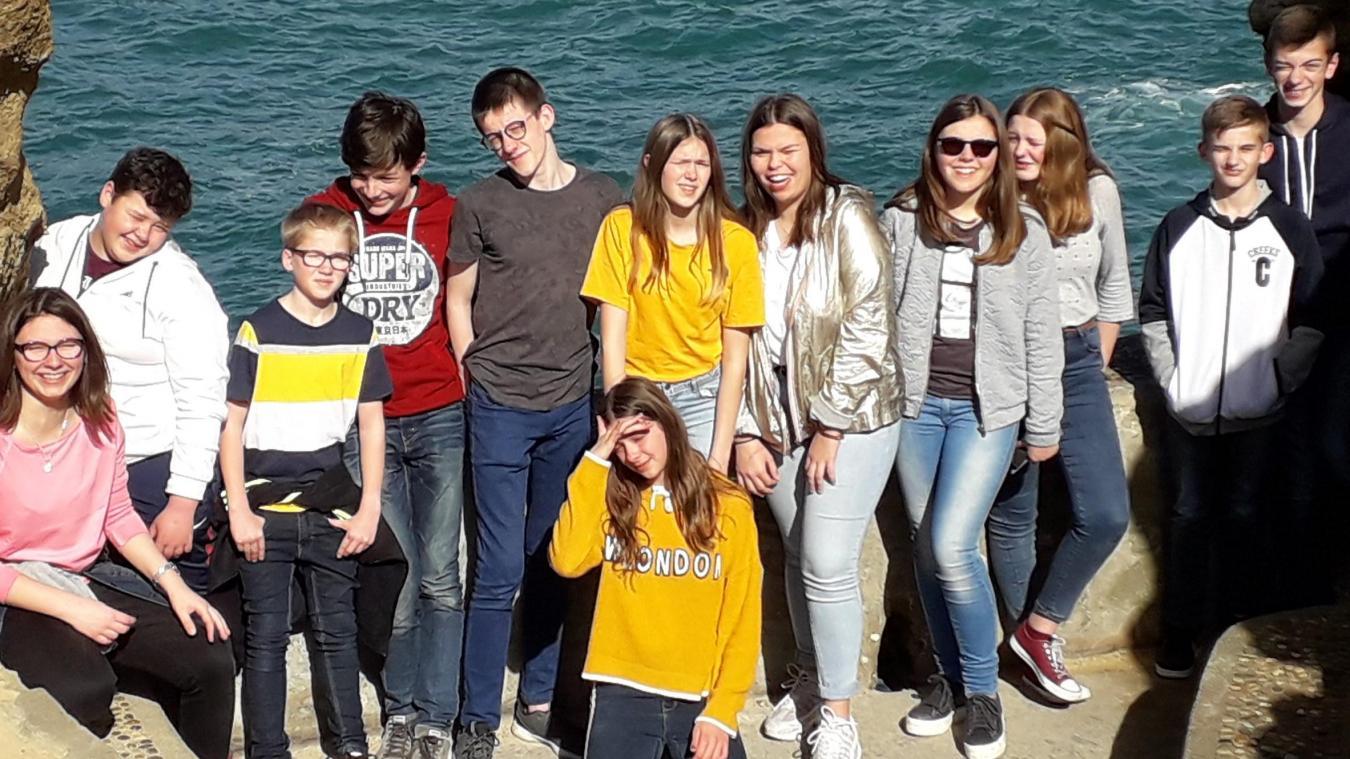 Dix jeunes joueurs ont participé au festival d'hiver de bridge en février.